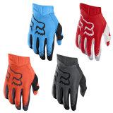 Померанцовые перчатки мотоцикла перчаток MTB Fox сумеречницы авиакомпании (MAG118)