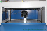Selbst gemachte CO2 50W 4060 Laser-Glasflaschen-Gravierfräsmaschine