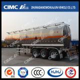 52cbm CIMC Huajun aleación de aluminio de combustible / gasolina / gasolina / cisterna de petróleo