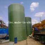 Filtro químico vertical do produto químico do tanque de armazenamento da fibra de vidro