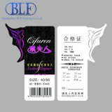 Customized Printed Clothing Price Tags (BLF-T031)