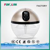 Purificador iónico del aire del difusor de la fragancia del humectador del aire fresco del agua