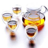 AA Teaset de cristal/pote/cristalería/Cookware/pote del té