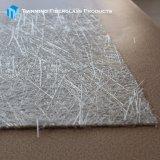 FRPのガラス繊維の圧縮鋳造物プロセスのための浮上のティッシュのマット