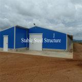 Stahlaufbau-Fertigung-Brathühnchen-Schicht-Haus