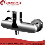 Mélangeur de salle de bains en laiton chromé neuf design (ZS71102)
