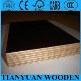 madeira compensada Shuttering enfrentada de 15mm película marinha impermeável