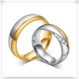 Anello degli amanti dell'acciaio inossidabile di modo dei monili (SR585)
