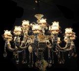 Украшения Swarovski рукояток Phine pH-0642z 18 свет канделябра светильника приспособления освещения самомоднейшего кристаллический привесной
