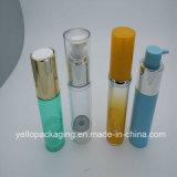 Placcare la bottiglia di plastica impaccante cosmetica della bottiglia del contenitore senz'aria delle estetiche