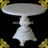 Carved di pietra Table per Outdoor