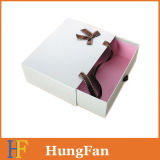 Cartulina de la alta calidad que resbala el rectángulo de papel del regalo del cajón