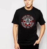 T-shirt rond personnalisé d'hommes de collet du plus défunt coton mou
