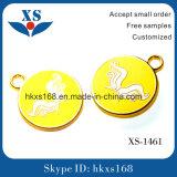 ハンドバッグのための金張りの文字の金属のラベル