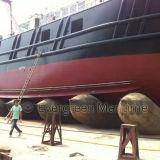 支えるために、救助するために容器の運搬量のための海洋のエアバッグ、海洋の気球、膨脹可能なローラー袋進水させるゴム製船および引き及び重い持ち上がること