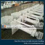 China-Fabrik Sunbo Marineklärschlamm-Einleitung-Pumpe/vertikale Sumpf-Pumpe