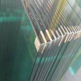 Vidrio Tempered claro de la fábrica 12m m del OEM para la pared de cortina