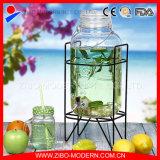 Erogatore di vetro all'ingrosso dell'acqua stagnante 3.8L