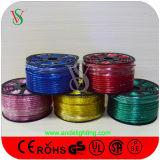 Самое лучшее цена цветастого света веревочки украшения СИД рождества кабеля