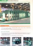 Linha de produção da correia de borracha/correia transportadora que faz a maquinaria