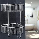 2 barre hanno personalizzato la mensola sanitaria della stanza da bagno dell'acciaio inossidabile degli articoli