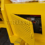 Tipo mobile mini macchina della gru della benna della costruzione della betoniera