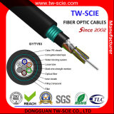 288 da fibra blindada do cabo GYTY53 do núcleo cabo ótico