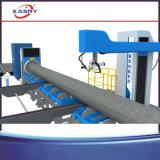 Польностью автоматический автомат для резки пересечения трубы CNC с факелом плазмы и пламени