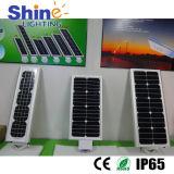 3 años de la garantía IP65 LED de luz de calle solar integrada impermeable al aire libre