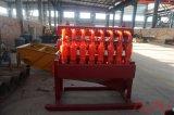 Hidrociclón del desarenador de la alta calidad usado en proceso del lodo de perforación