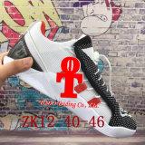 2017 nuevos zapatos de baloncesto de la llegada Zk12 Zk olímpico 12 zapatillas de deporte con los zapatos del deporte del acoplamiento del amortiguador de aire de Kd