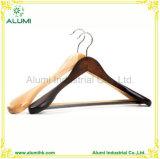 Percha de madera de madera