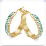 Brincos da jóia do aço inoxidável de acessórios de forma (EE0098)