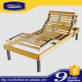 Umweltfreundliches Latte-Bett-elektrisches Bett-justierbares Bett mit Speicher-Schaumgummi-Matratze