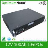 bateria solar do íon do lítio de 12V 100ah com UL do CE