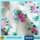 Blumendruck-Rayon-Gewebe für Mädchen-Kleider