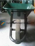 Brouette de roue verte solide modèle de l'Afrique du Sud de construction Wb3800