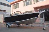 Barco de pesca de alumínio do projeto 5m Bowrider de Austrália com Ce