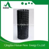 Precios pavimentados asfalto material de Geogrid de la fibra de vidrio de la construcción de carreteras