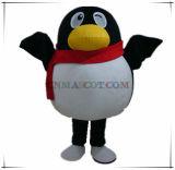 Mascote popular do pinguim de QQ para a promoção da imagem de companhia