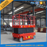 250kgs Durable Structureの自己Propelled Scissor Lift Elevator