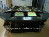 Sqaure de lujo 8 Players Roulette Machine con Bill Acceptor para Sale