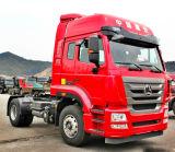 De vrachtwagen van de het wieltractor van Sinotruk HOWO 10, de Vrachtwagen van de Tractor 290-420HP