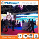 P4 Panneau publicitaire à l'affichage extérieur plein écran LED