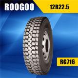 El carro radial de la marca de fábrica de Roogoo pone un neumático 12r22.5