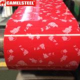고품질 또는 꽃 패턴 PPGI/Printed 강철 코일