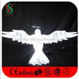 luces de la escultura del águila de la Navidad 3D