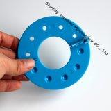 2016 fabricante plástico coloreado vendedor caliente del tejedor POM POM de la bola de la pelusa