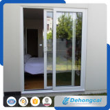 PVC/UPVC/plástico que desliza a porta de vidro dobro para o interior ou o exterior