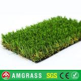 Tappeto erboso artificiale sintetico di figura naturale Premium di verde U (AMUT327-40D)